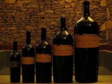 Tamanhos das garrafas